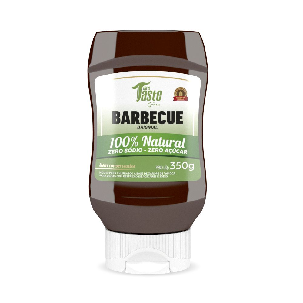 Molho Barbecue Natural (350g) - Mrs Taste Green