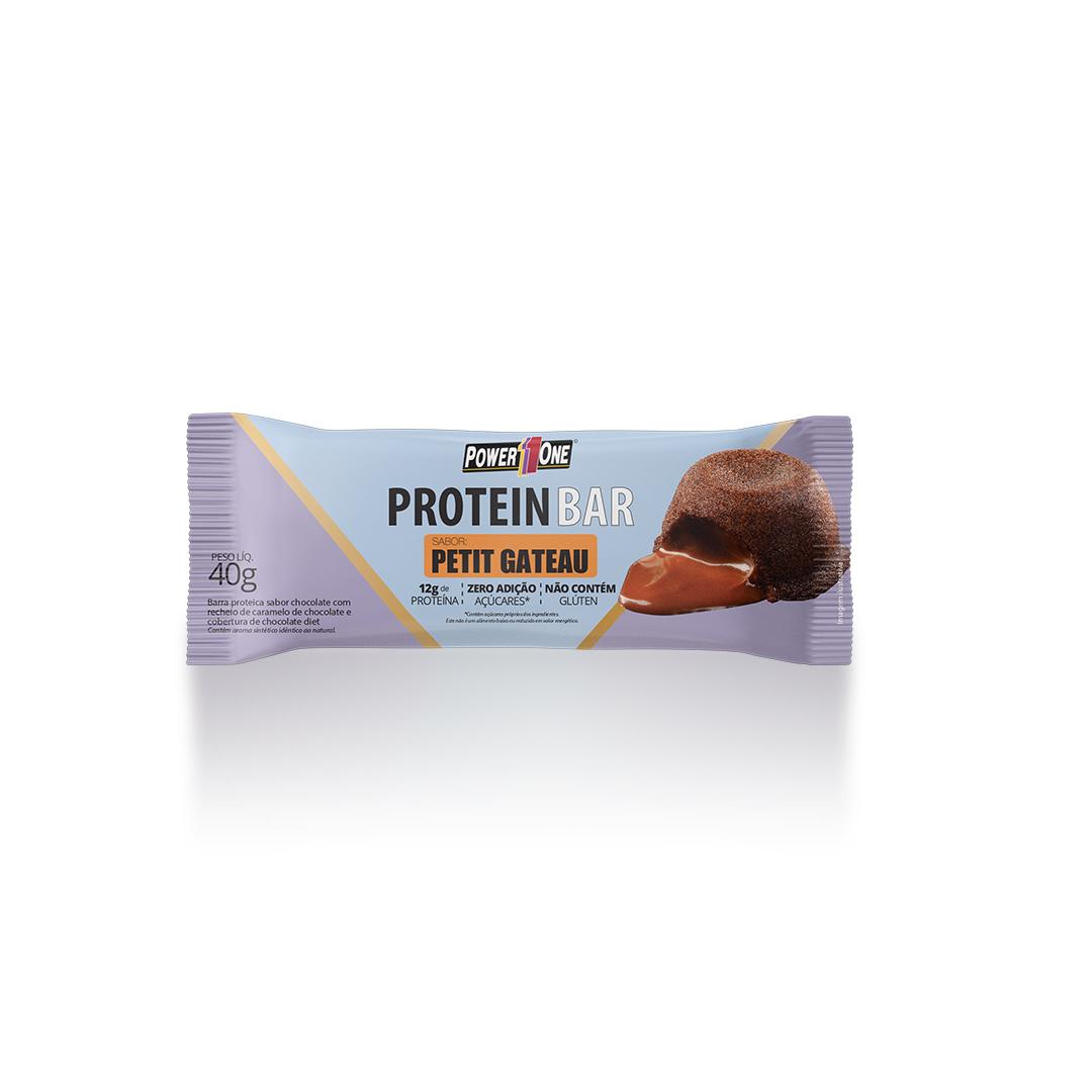 Protein Bar Petit Gateau Barrinha Barra (40g) - Power1One