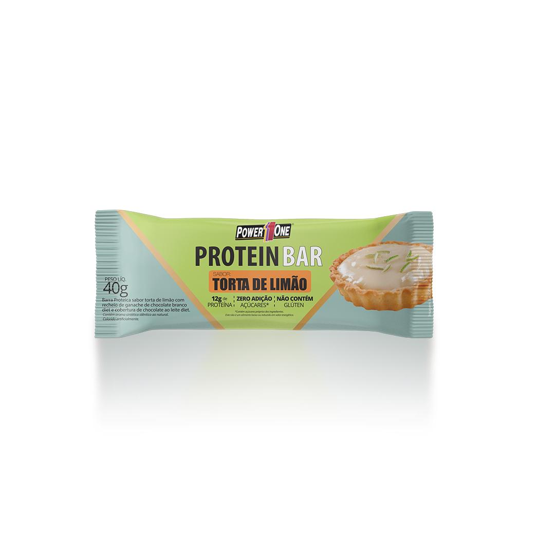 Protein Bar Torta de Limão Barrinha Barra (40g) - Power1One