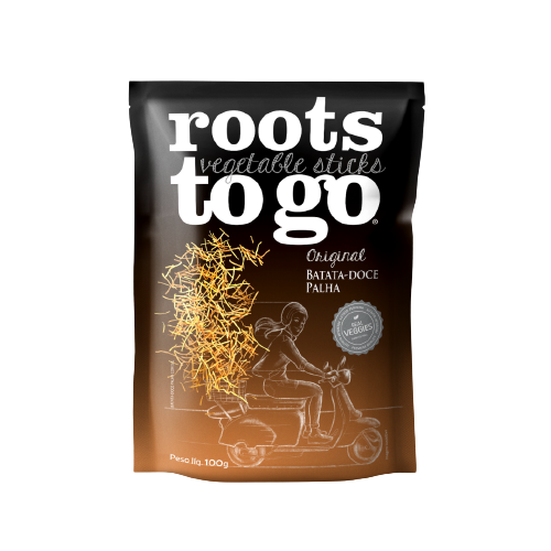 Batata-Doce Palha (100g) - Roots To Go