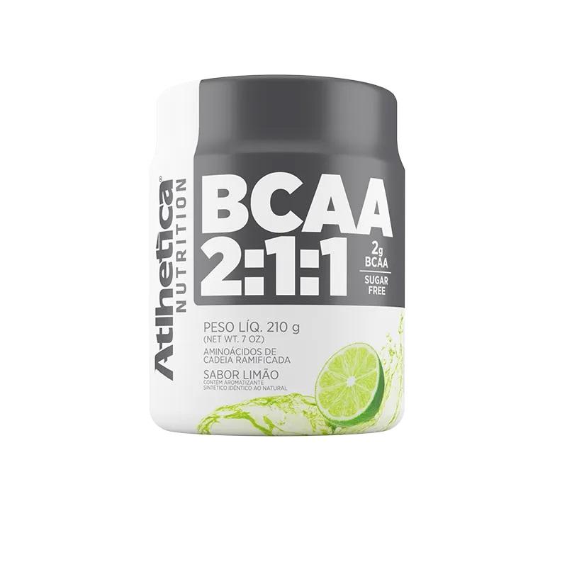 BCAA 2:1:1 Limão (210g) - Atlhetica Nutrition