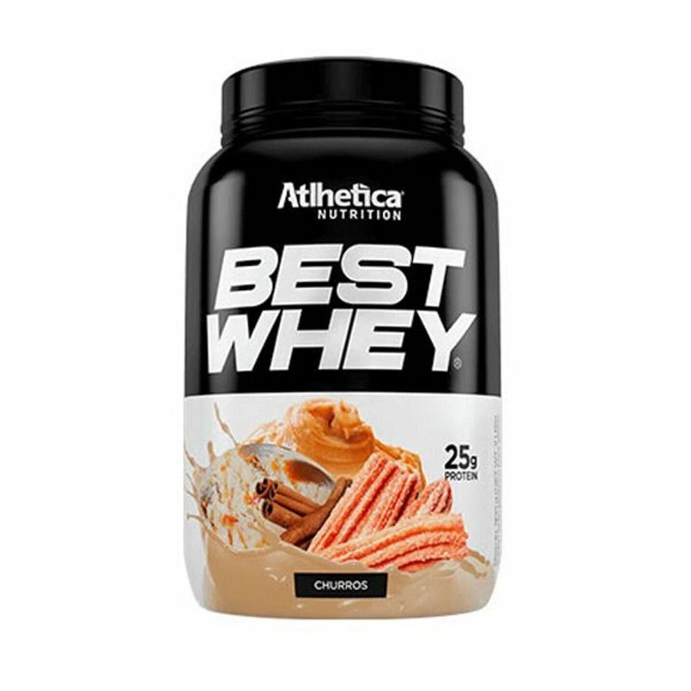 BEST WHEY Sabor Churros (900g) - Atlhetica Nutrition