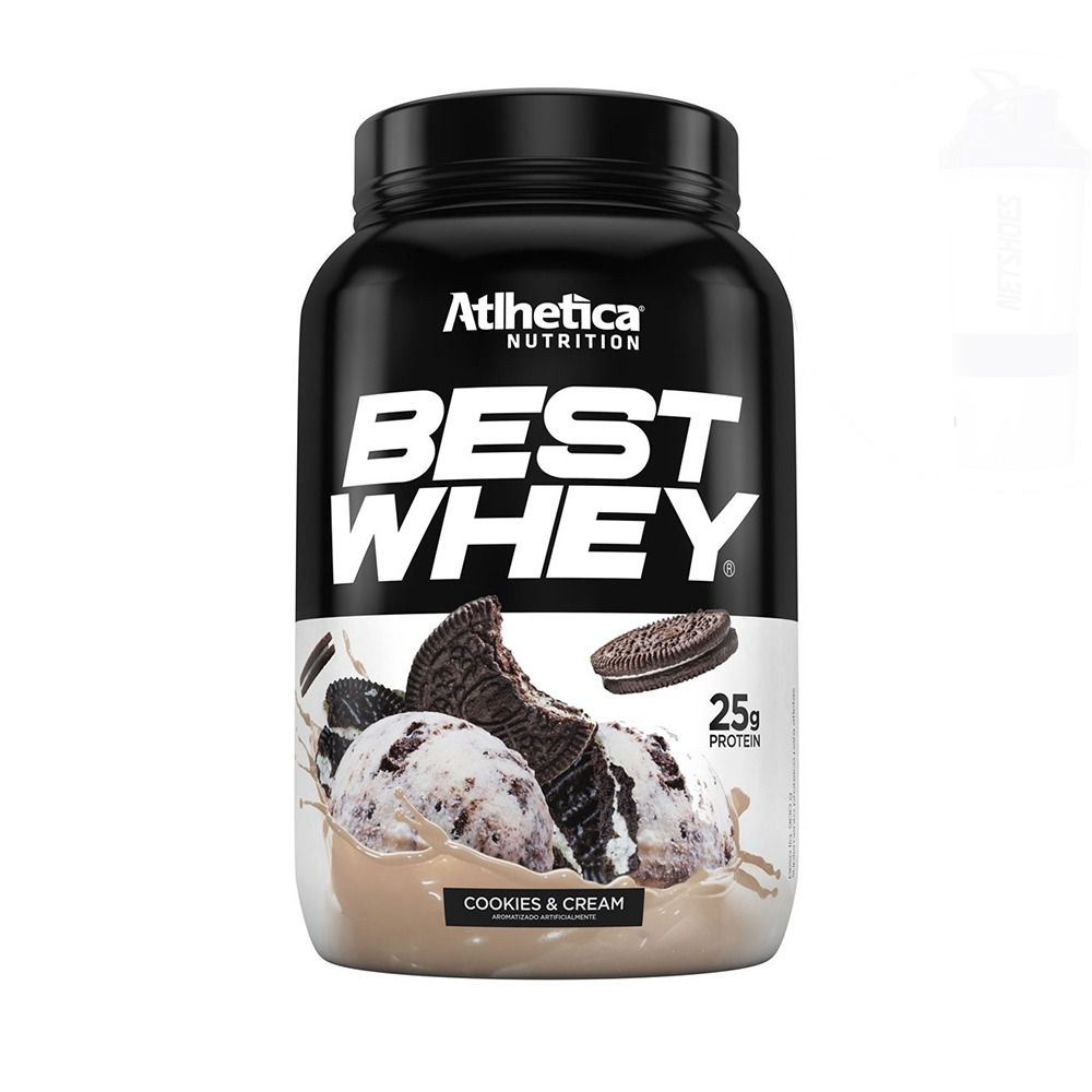 BEST WHEY Sabor Cookies & Cream (900g) - Atlhetica Nutrition