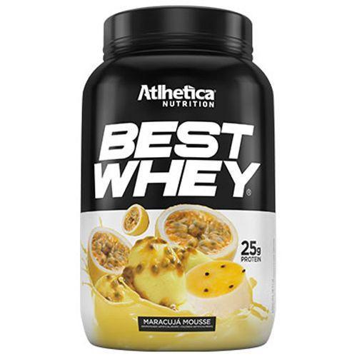 BEST WHEY Sabor Mousse de Maracujá (900g) - Atlhetica Nutrition
