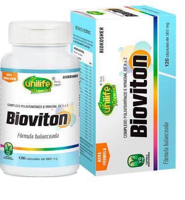 Bioviton Multi Vitamínico Mineral Unilife 120 caps