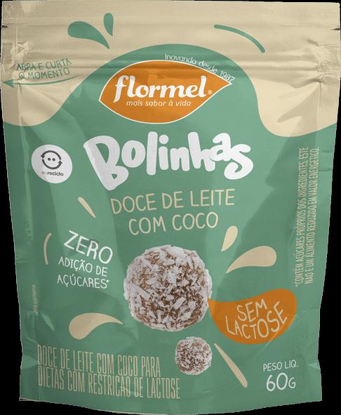 Bolinhas de Doce de Leite Zero Lactose (60g) - Flormel