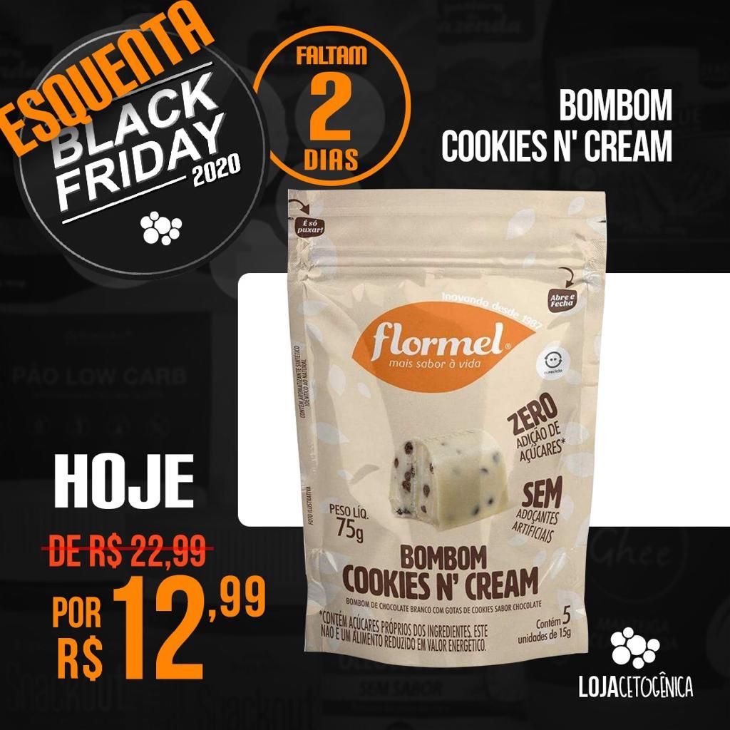 Bombom Cookies N' Cream (75g) - Flormel