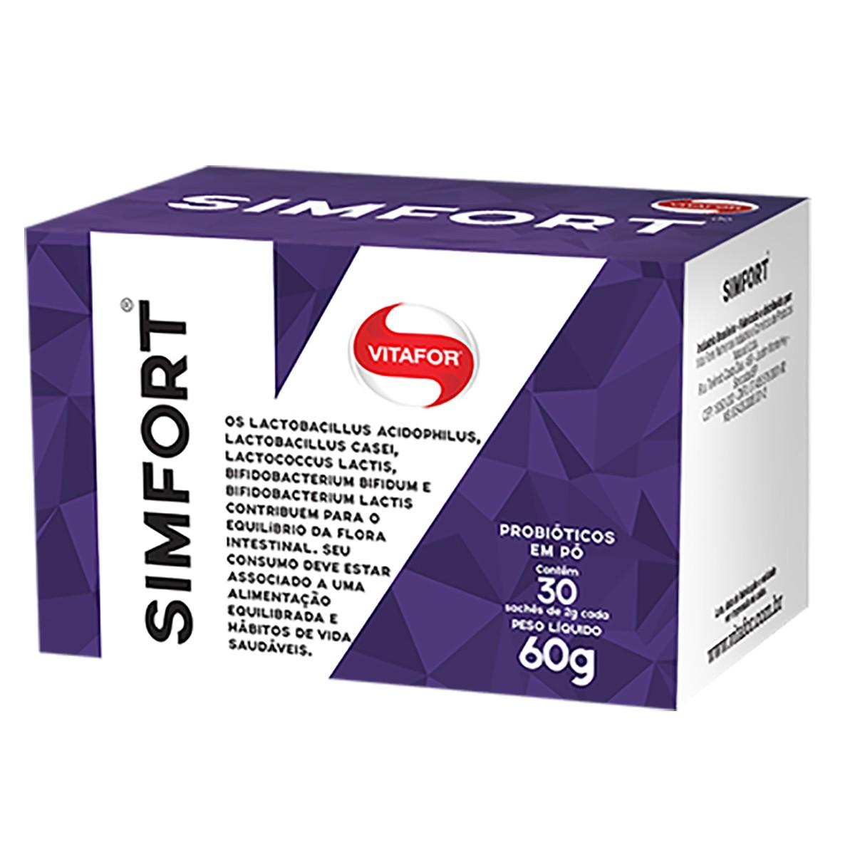 Caixa 30 Sachês SimFort (2g) - VitaFor