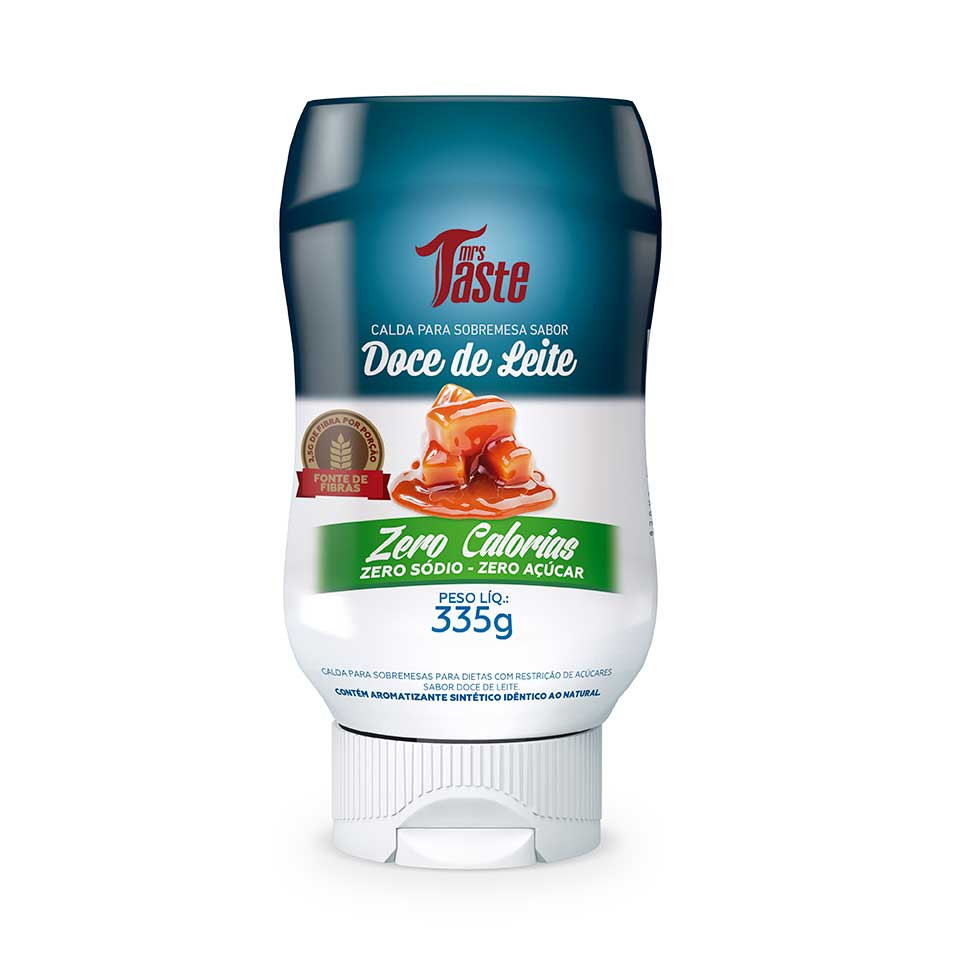 Calda Zero Doce de Leite - Mrs Taste 335g