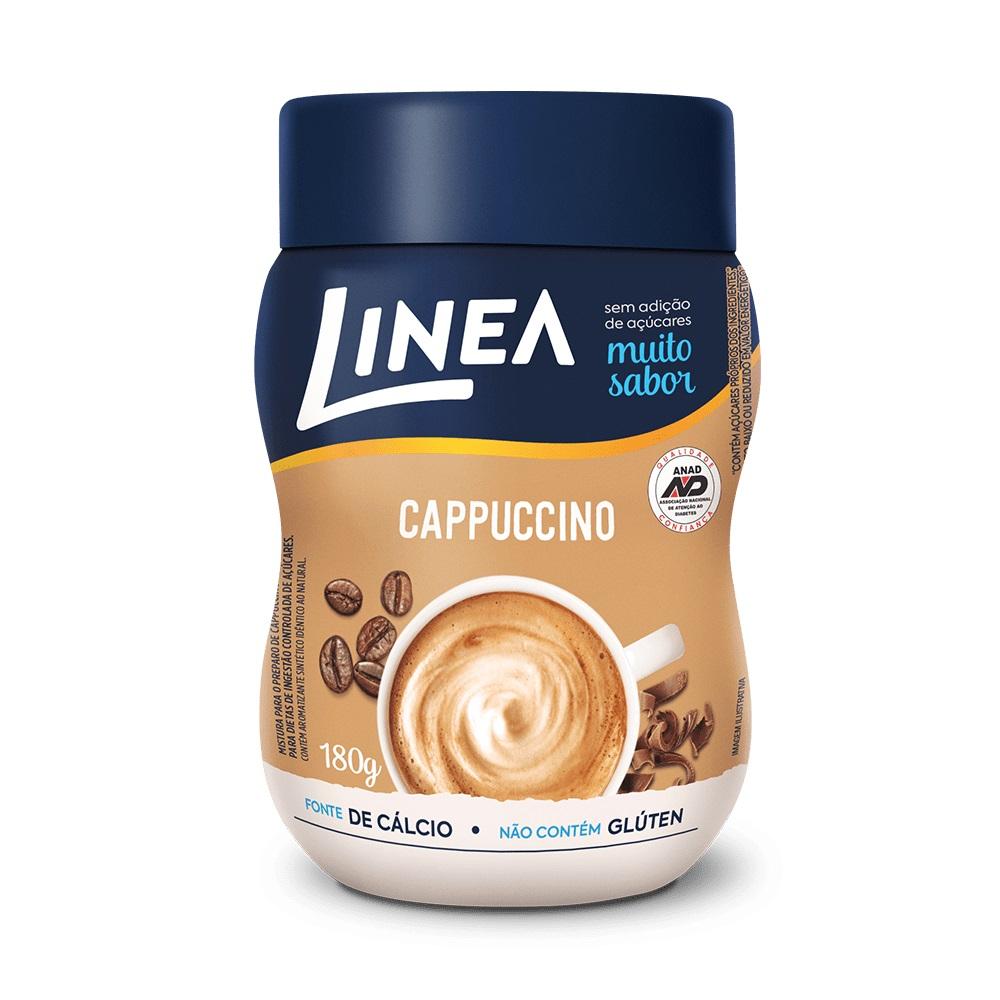 Cappuccino Zero Açúcar (180g) - Linea