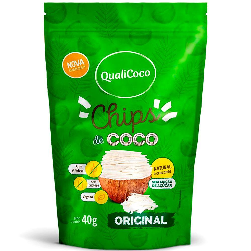 Chips de Coco Original (40g) QualiCoco