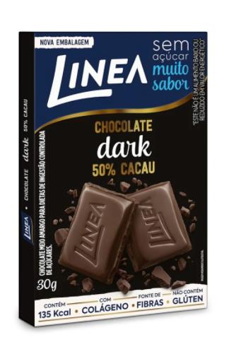 Chocolate Dark Meio Amargo (30g) - Linea