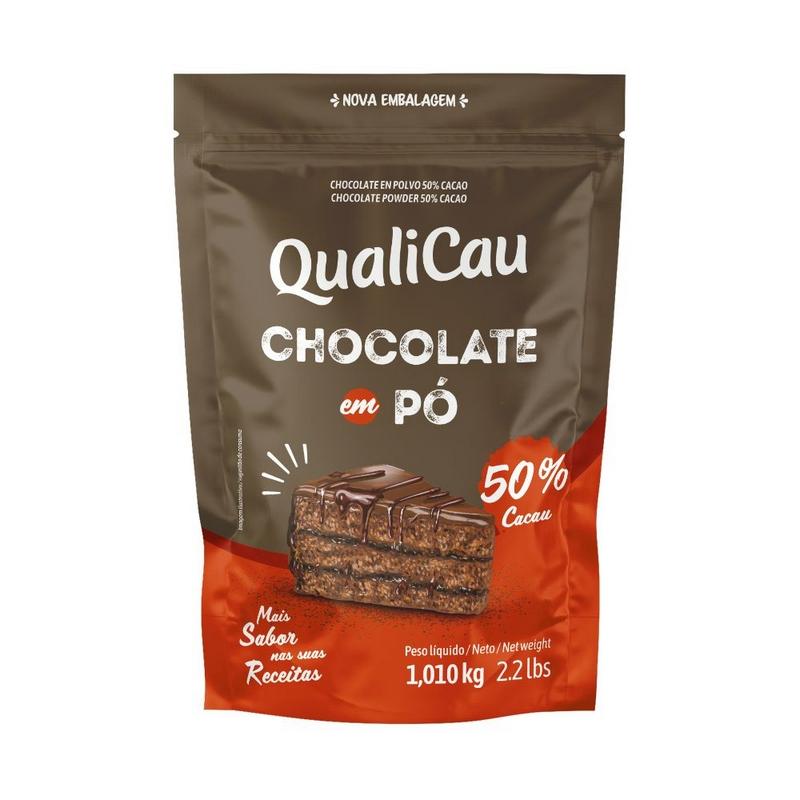 Chocolate Em Pó Qualicau 50% Cacau (200g)