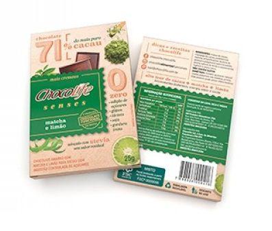 Chocolife Chocolate Senses Matchá E Limão 25g)