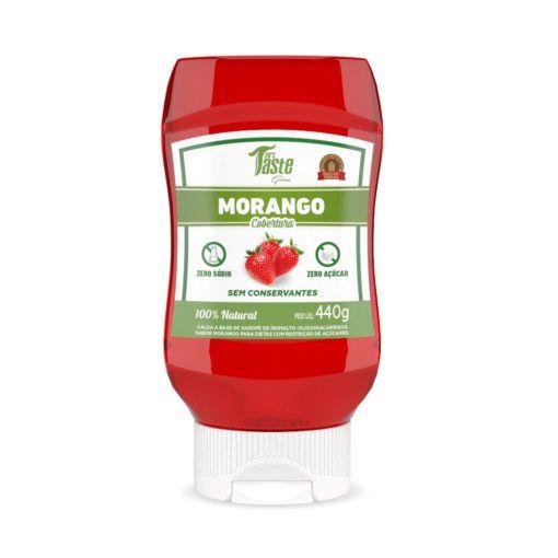 Calda Natural de Morango (440g) – Mrs Taste Green
