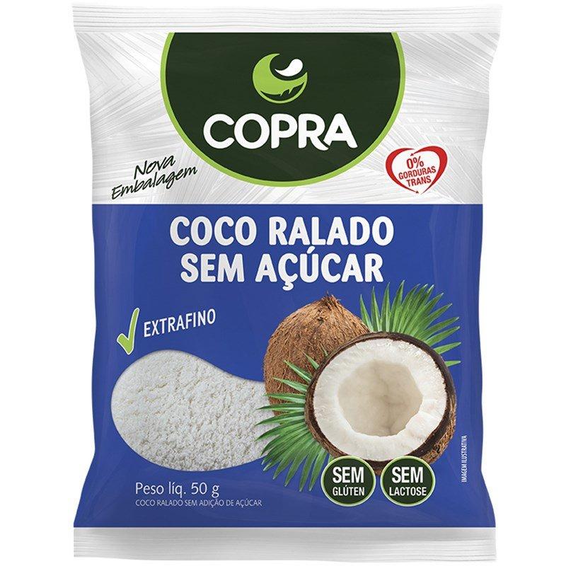 Coco Ralado sem Açúcar (50g) - COPRA