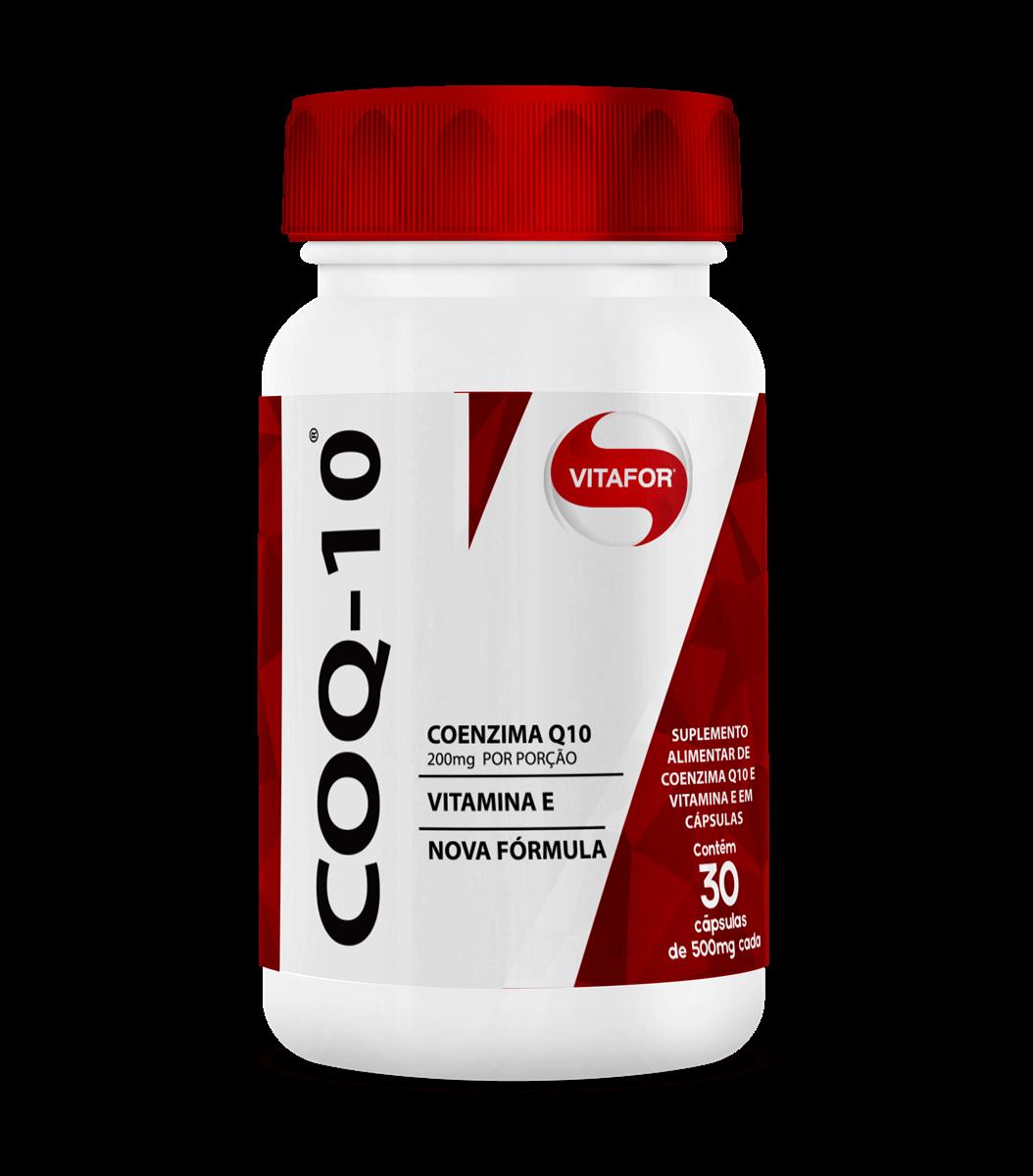 Coenzima Q10 (30 Cápsulas) - VitaFor