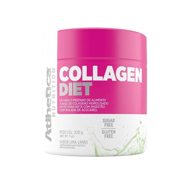 Collagen Diet Sabor Lima-Limão (200g) -  Atlhetica Nutrition