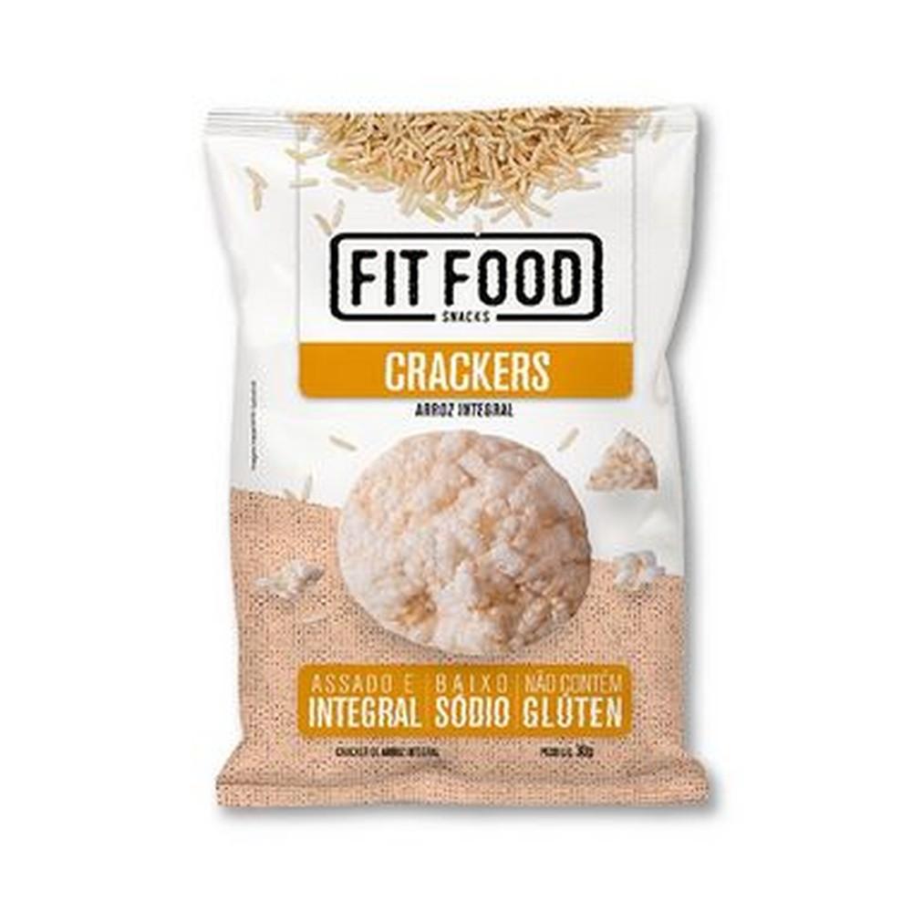 Cracker de Arroz Integral (30g) - Fit Food
