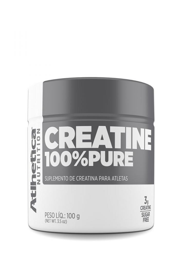 Creatina 100% Pure (100g) - Atlhetica Nutrition