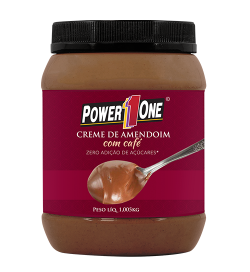 Creme de Amendoim com Café (1Kg) - Power1One