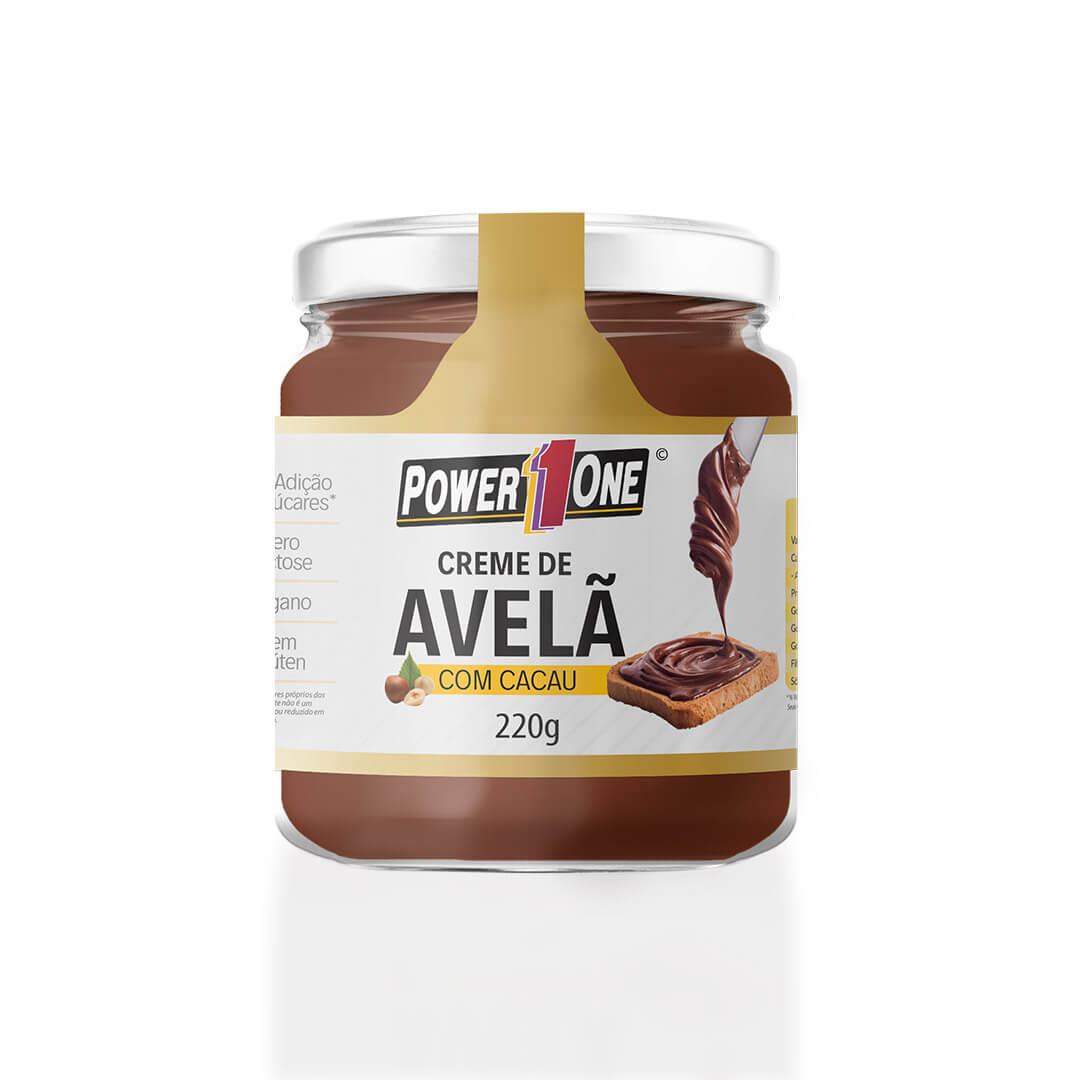 Creme de Avelã com Cacau (220g) - Power1One