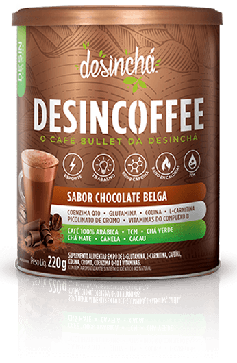DESINCOFFEE CAFÉ BULLET SABOR CHOCOLATE BELGA (220g) - Desinchá