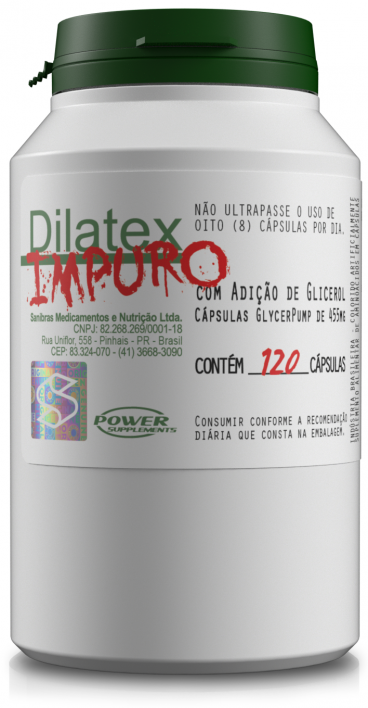 Dilatex IMPURO (120 Cápsulas) - Power Supplements