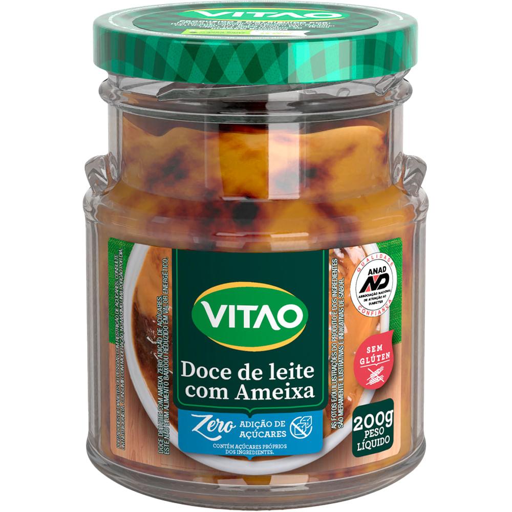 Doce de Leite Com Ameixa Zero Adição de Açúcares (200g) - VITAO