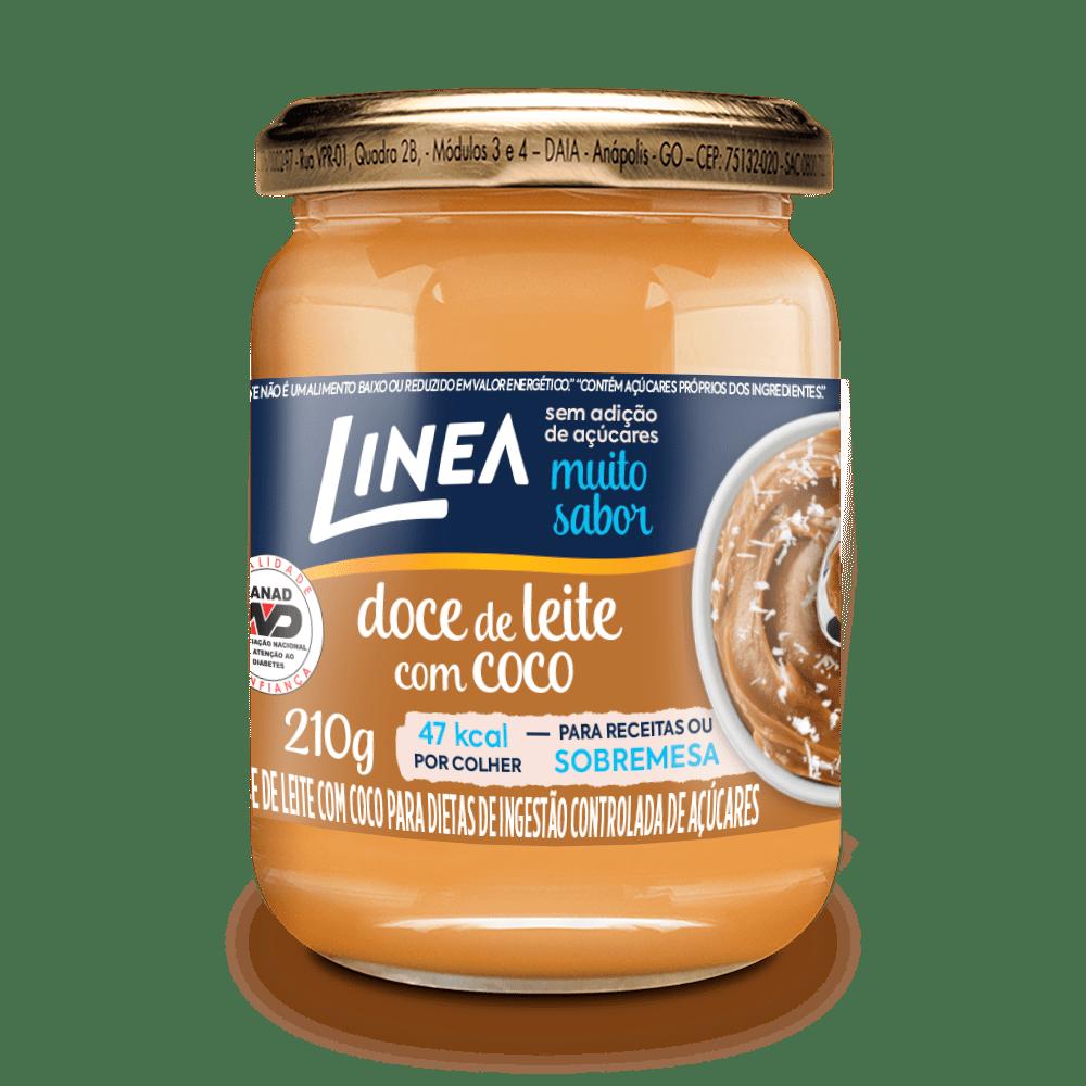 Doce De Leite Com Coco (210g) - Linea