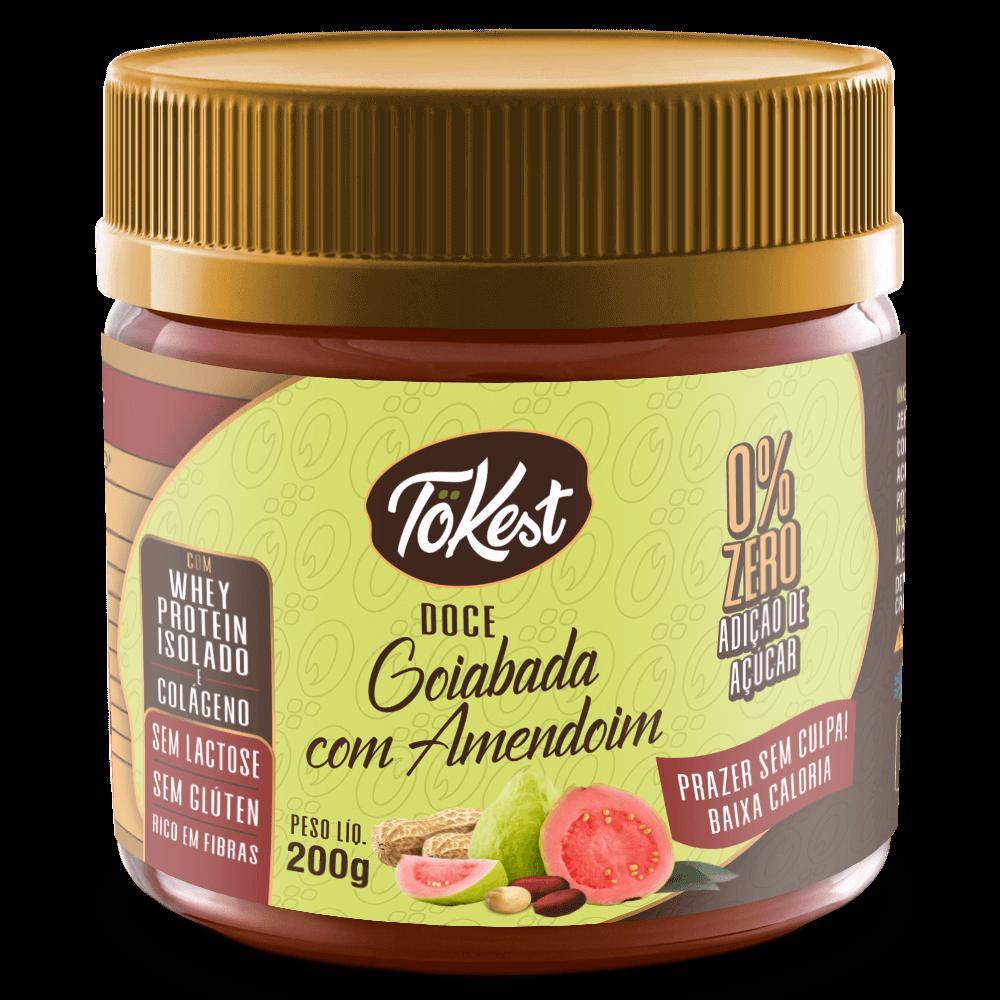 Doce Tokest Goiabada com Amendoim (200g)