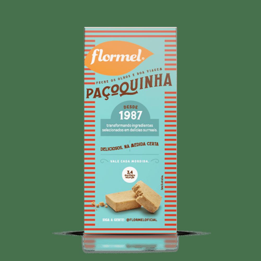Doces Pedaços Paçoca Zero (caixa 3 unidades) - Flormel