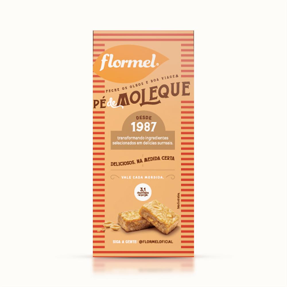 Doces Pedaços Pé de Moleque Zero (caixa 3 unidades) - Flormel