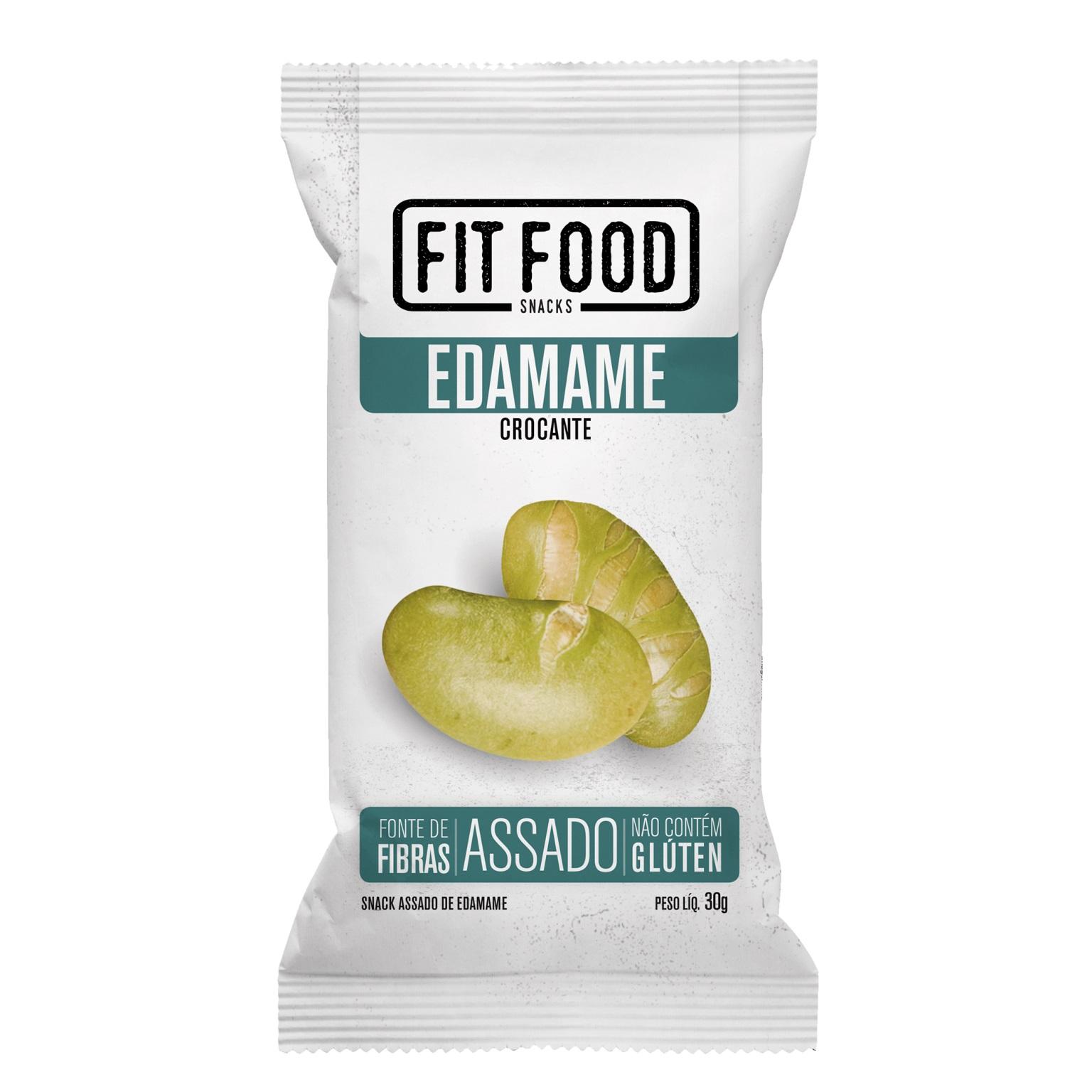 Edamame Levemente Salgado (30g) - Fit Food