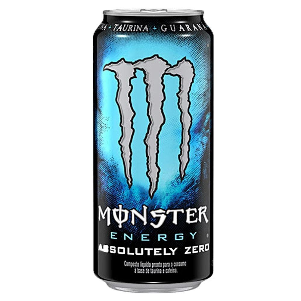 Energético Absolutely Zero (473Ml) - Monster