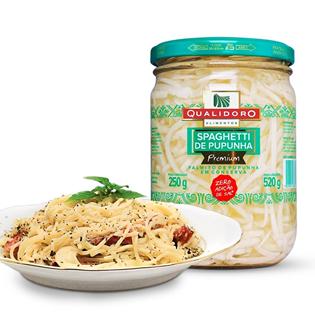 Espaguete de Palmito Pupunha Premium Zero (520g) - Qualidoro