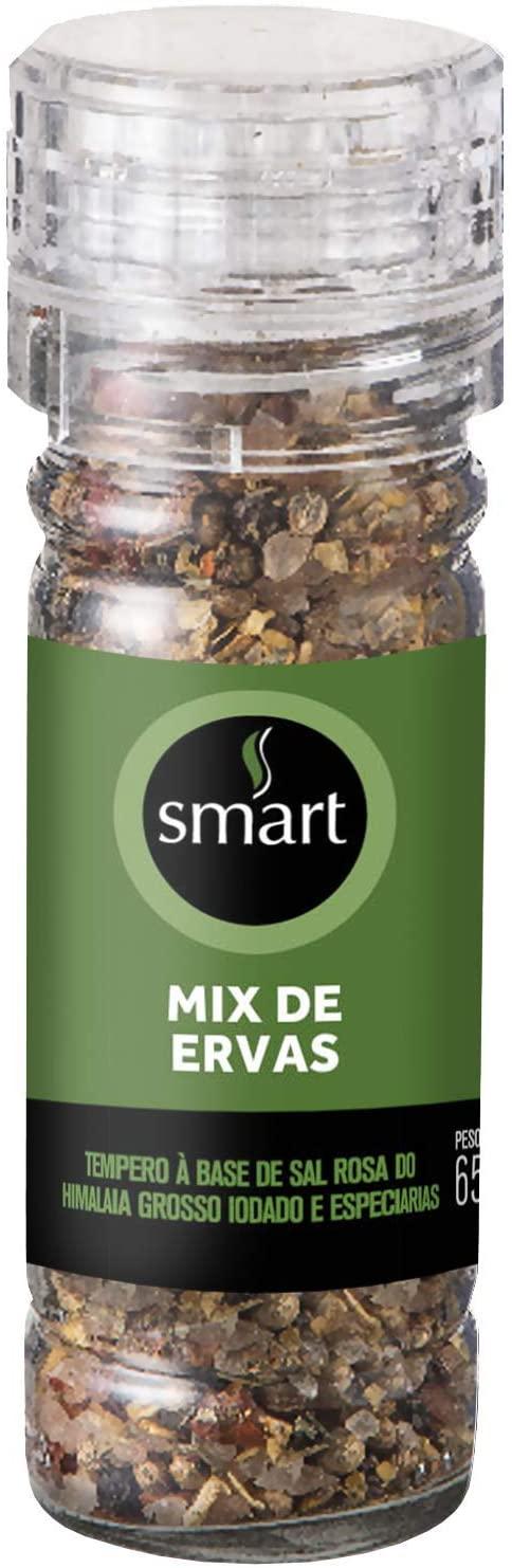 Especiarias mix de Ervas com Moedor (65g) - Smart