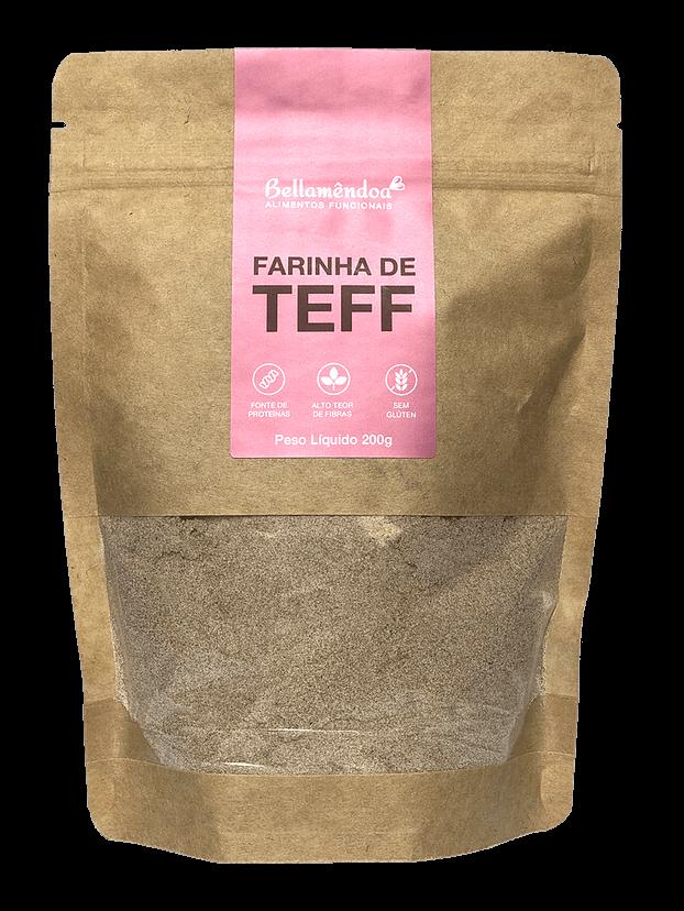 Farinha de Teff (200g) - Bellamêndoa