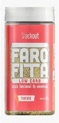 Farofita Apimentada Low Carb (220g) - Snackout