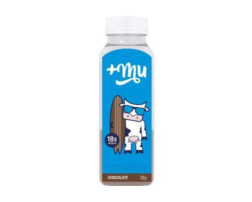 Garrafinha de Chocolate Tradicional - 32g - Mais Mu