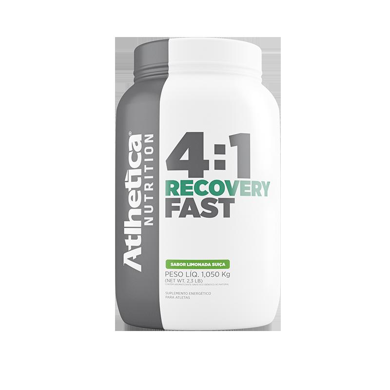OFERTA: GO! Recovery Fast 4:1 Sabor Limonada Suiça (1,050kg) - Atlhetica Nutrition