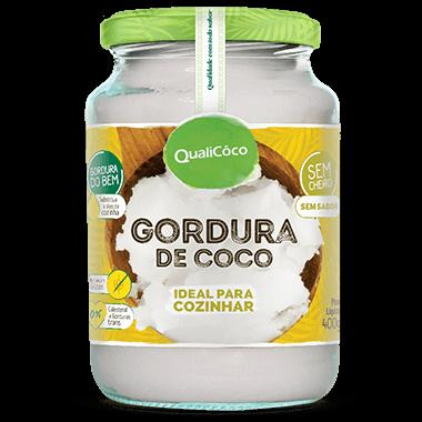 Gordura de Coco - 400g - Qualicôco