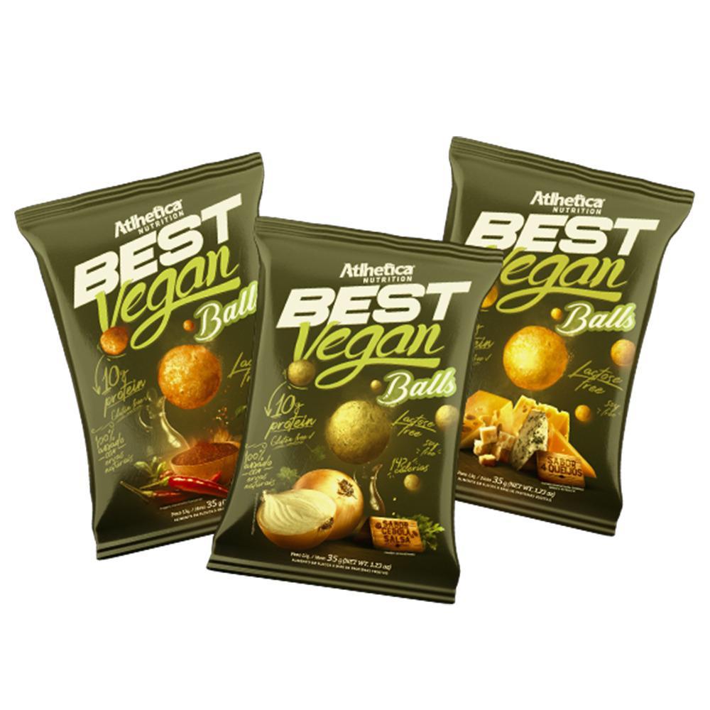 Kit 3 Best Vegan Balls - Atlhetica Nutrition