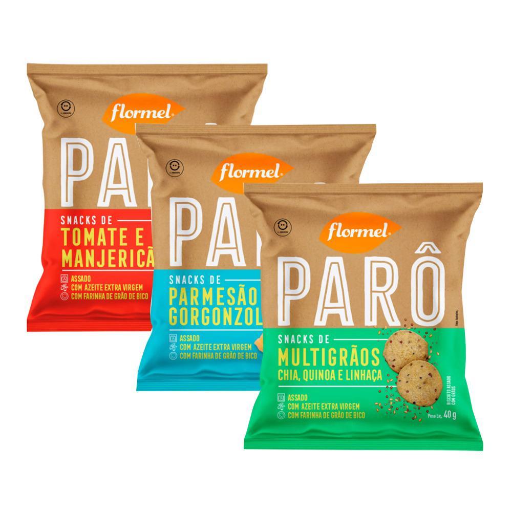 Kit 3 Parô Snacks - Flormel