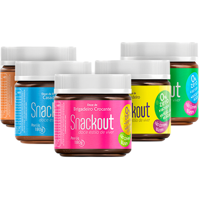 Kit 5 Snackout Doce Todos os Sabores