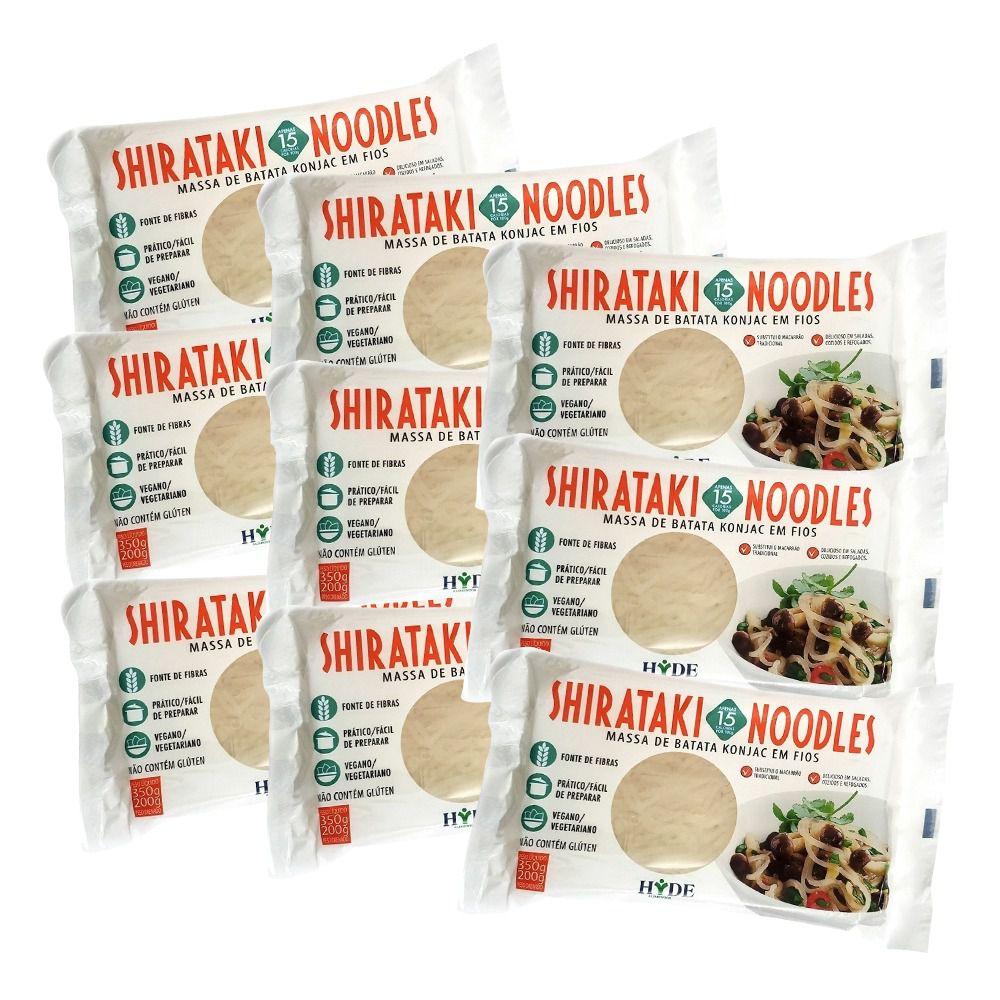 Kit 7 Macarrões Noodles Shirataki Konjac - 200g - Hyde Alimentos
