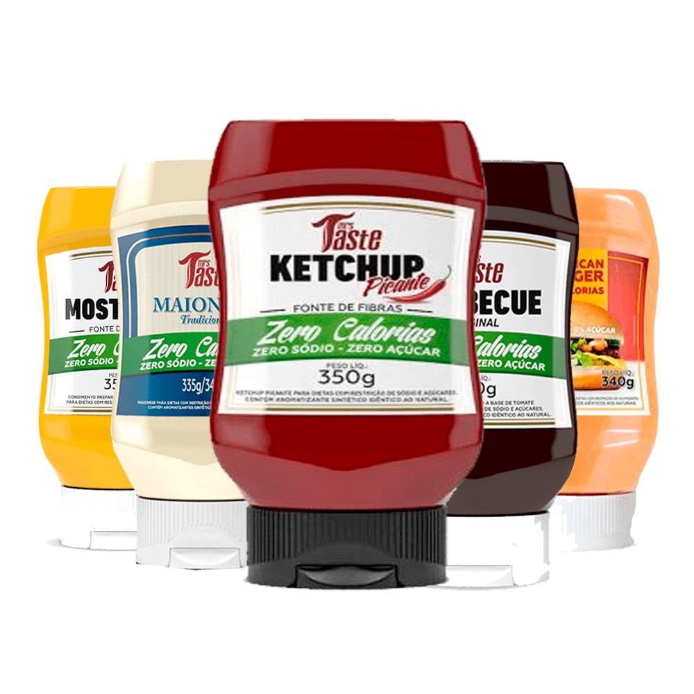 Kit Lanche 5 Molhos - Mrs Taste - Picante