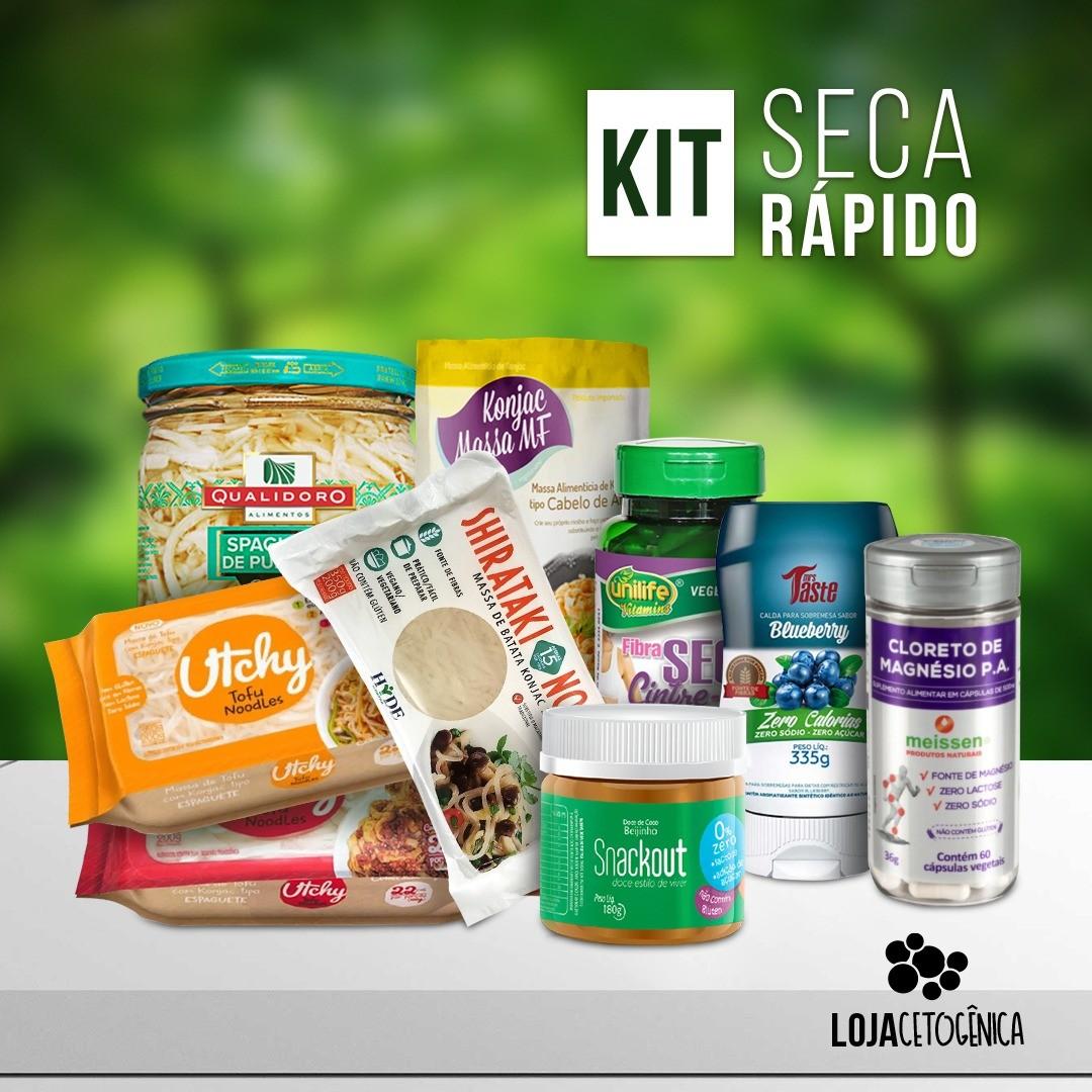 Kit Seca Rápido 10 Dias