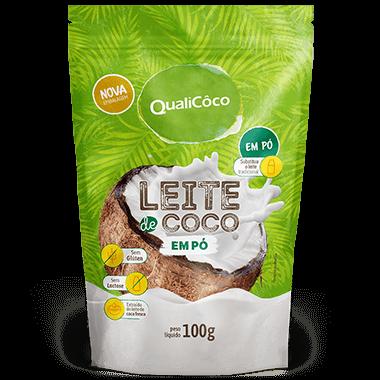 Leite de Coco em Pó  (100g) QualiCoco