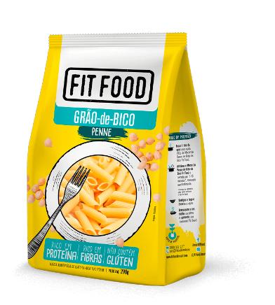 MACARRÃO PENNE GRÃO-DE-BICO (200g) - FIT FOOD